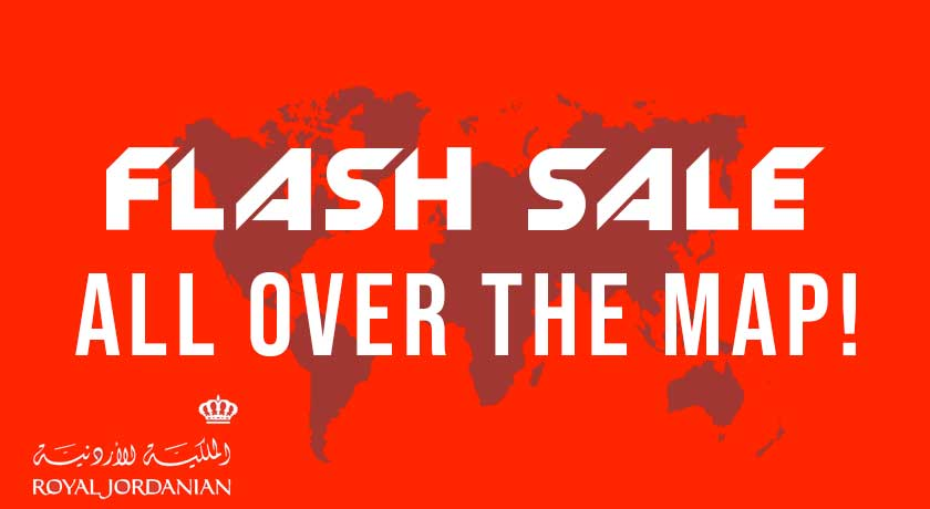 Flash Sale - All Over the map
