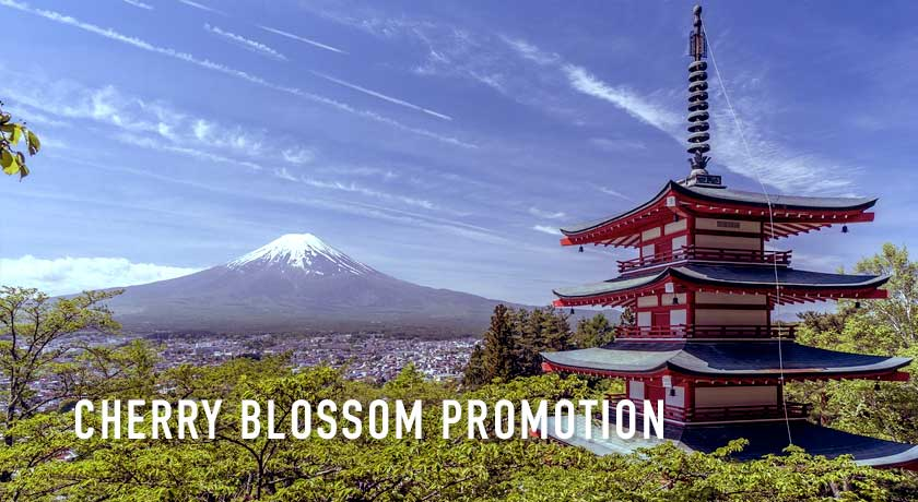 CHERRY BLOSSOM PROMOTIONAL FARE 2019