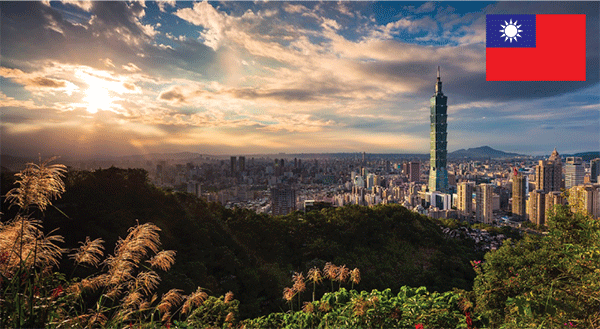 Holiday Package to TAIWAN from Dubai