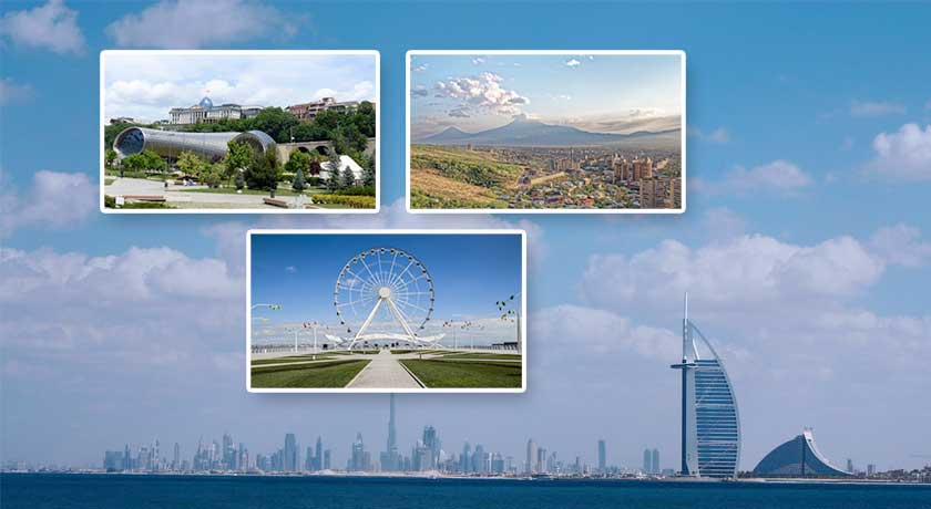 4D Packages to Yerevan, Tbilisi & Baku