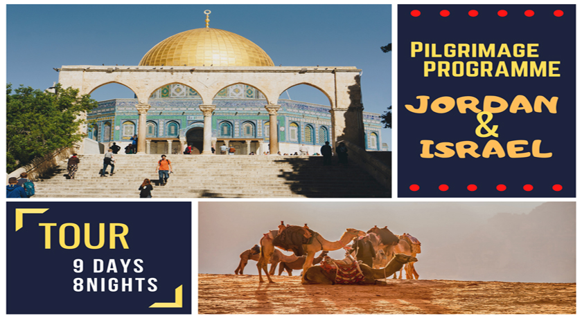 9 DAYS TOUR: ISRAEL & JORDAN