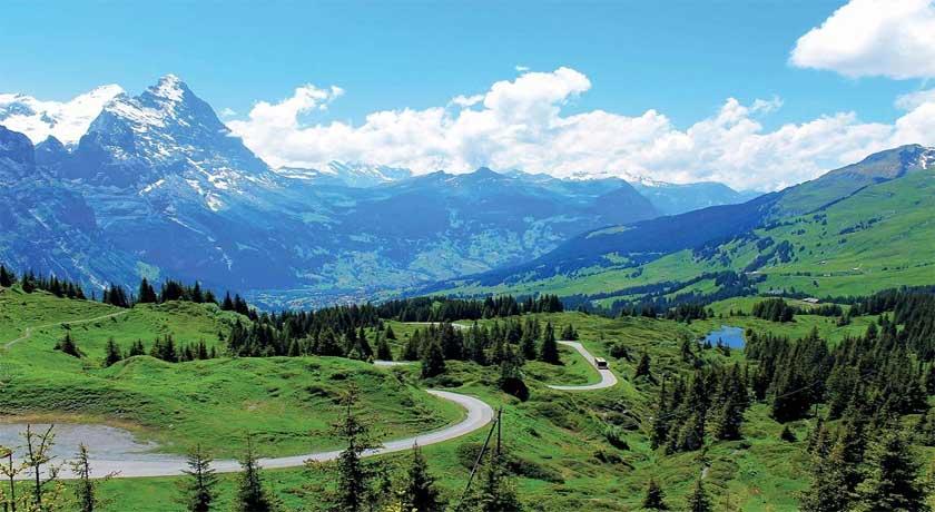 10 DAYS SWITZERLAND TO FRANKFURT