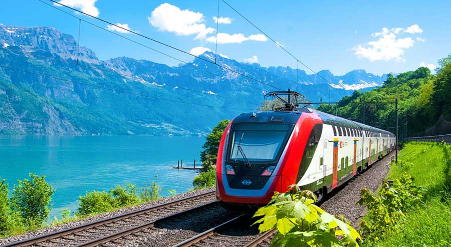 Holiday Package to SWISS RAIL PACKAGES from Dubai