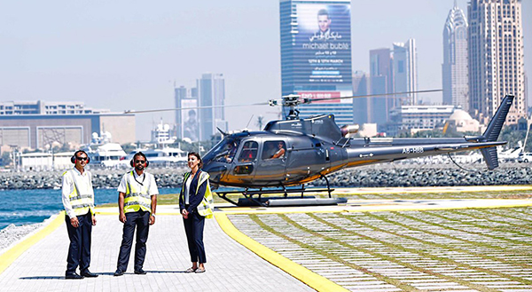 HELICOPTER TOUR DUBAI