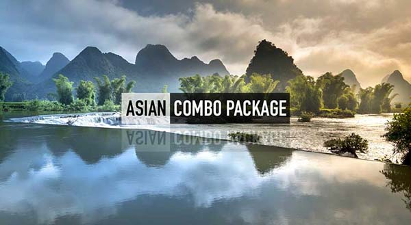 Holiday Package to ASIAN COMBO PACKAGE from Dubai